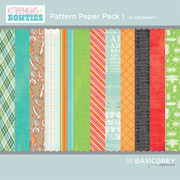 Bow Ties Paper Pack 1