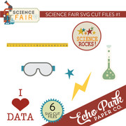 Science Fair SVG Cut Files #1