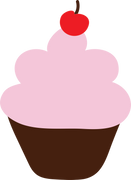 Cupcake #6 SVG Cut File