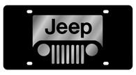 Jeep Grill License Plate - 2414-1