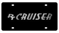 Chrysler PT Cruiser License Plate - 2417-1