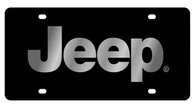 Jeep License Plate - 2418-1