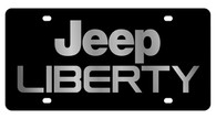 Jeep Liberty License Plate - 2419-1