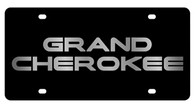 Jeep Grand Cherokee License Plate - 2420-1