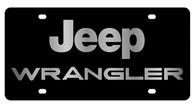 Jeep Wrangler License Plate - 2423-1