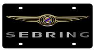 Chrysler Sebring License Plate - 2426-1