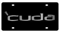 Dodge Cuda License Plate - 2433-1