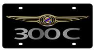 Chrysler 300C License Plate - 2438-1