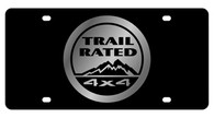 Jeep Trail Rated License Plate - 2445-1
