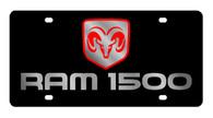 Dodge Ram 1500 License Plate - 2455-1