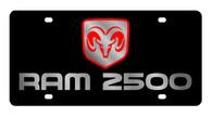 Dodge Ram 2500 License Plate - 2456-1