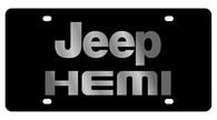 Jeep HEMI License Plate - 2463-1