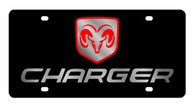 Dodge Charger License Plate - 2473-1