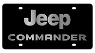 Jeep Commander License Plate - 2480-1