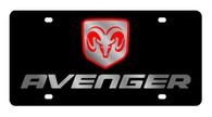 Dodge Avenger License Plate - 2483-1
