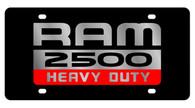 Dodge Ram 2500 Heavy Duty License Plate - 2484-1