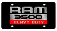 Dodge Ram 3500 Heavy Duty License Plate - 2485-1