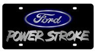 Ford Power Stroke License Plate - 2502-1
