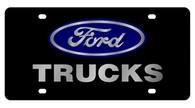 Ford Trucks License Plate - 2503-1