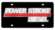 Ford Power Stroke Diesel License Plate - 2509-1