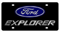 Ford Explorer License Plate - 2510-1