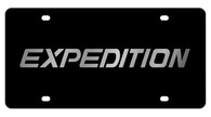 Ford Expedition License Plate - 2512-1