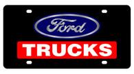 Ford Trucks License Plate - 2517-1