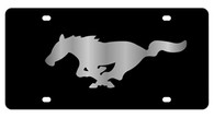 Mustang License Plate - 2520-1