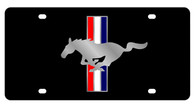 Mustang License Plate - 2523-1