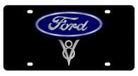 Ford V8 License Plate - 2532-1