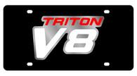 Ford Triton V8 License Plate - 2536-1