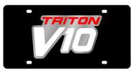 Ford Triton V10 License Plate - 2537-1
