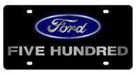Ford Five Hundred License Plate - 2563-1