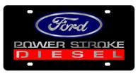 Ford Power Stroke Diesel License Plate - 2577-1