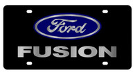 Ford Fusion License Plate - 2586-1