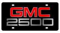 GMC 2500 License Plate - 2602-1