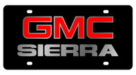 GMC Sierra License Plate - 2604-1