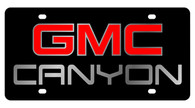 GMC Canyon License Plate - 2613-1