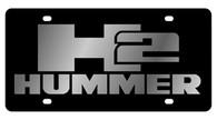 Hummer H2 License Plate - 2622-1