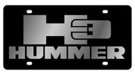 Hummer H3 License Plate - 2626-1