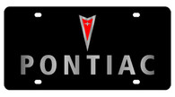 Pontiac License Plate - 2831-1