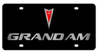 Pontiac Grand Am License Plate - 2832-1