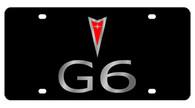Pontiac G6 License Plate - 2839-1