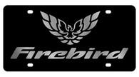 Pontiac Firebird  License Plate - 2847-1
