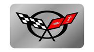 Corvette C5 Exhaust Enhancer Plate - C5 Flags -  4100