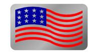 Corvette C5 Exhaust Enhancer Plate - USA Flag - 4105