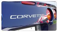 Corvette C5 Rear Bumper Letters [VHB-Very High Bond] - 4201