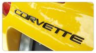 Corvette C5 Rear Bumper Letters Classic Style - 4201 Classic