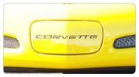 Corvette C5 Front Bumper Letters Classic Style - 4202 Classic