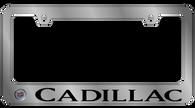 Cadillac License Plate Frame - 5204LW-BK